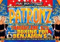 Patronz Boxing for Benjamin's