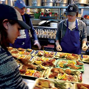 Volunteer | Thanksgiving | Silicon Valley | Metroactive