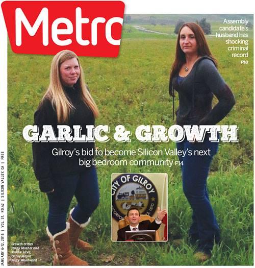 Metro Newspaper Cover: January 6, 2016
