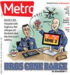 Metro Newspaper Cover: January 28, 2015