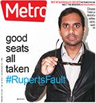Metro Newspaper Cover: February 4, 2015