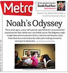 Metro Newspaper Cover: February 19, 2014