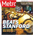 Metro Newspaper Cover: April 1, 2015