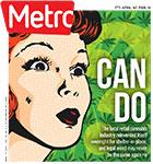 Metro Newspaper Cover: April 1, 2020