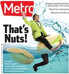 Metro Newspaper Cover: April 8, 2015