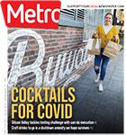 Metro Newspaper Cover: April 22, 2020
