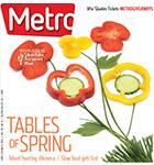 Metro Newspaper Cover: April 30, 2014