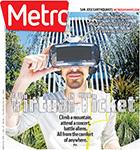 Metro Newspaper Cover: May 6, 2015