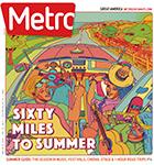 Metro Newspaper Cover: May 18, 2016