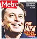 Metro Newspaper Cover: September 2, 2015