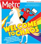 Metro Newspaper Cover: September 28, 2016
