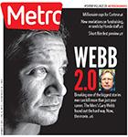 Metro Newspaper Cover: October 1, 2014
