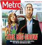 Metro Newspaper Cover: October 4, 2017