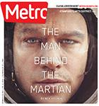 Metro Newspaper Cover: October 14, 2015