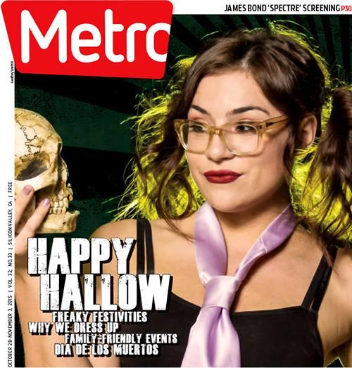 Metro Newspaper Cover: October 28, 2015