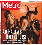 Metro Newspaper Cover: October 29, 2014