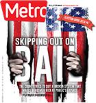 Metro Newspaper Cover: November 2, 2016