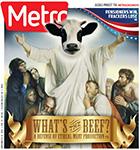 Metro Newspaper Cover: November 5, 2014