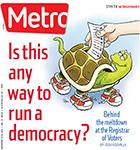 Metro Newspaper Cover: November 12, 2014