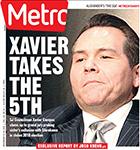 Metro Newspaper Cover: November 13, 2013
