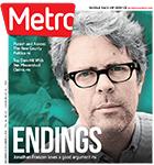 Metro Newspaper Cover: November 28, 2018