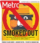 Metro Newspaper Cover: December 2, 2020