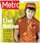 Metro Newspaper Cover: December 10, 2014