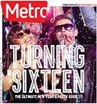 Metro Newspaper Cover: December 23, 2015