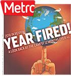 Metro Newspaper Cover: December 28, 2016