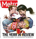 Metro Newspaper Cover: December 30, 2015