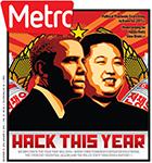 Metro Newspaper Cover: December 31, 2014