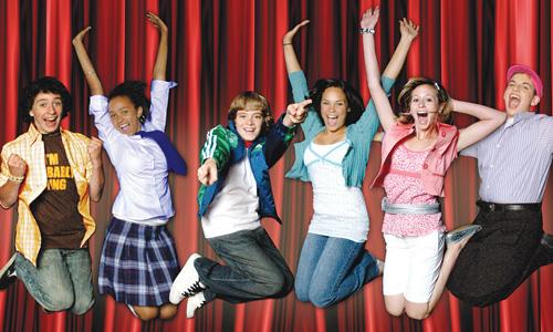 kids in san jose ca high school musical