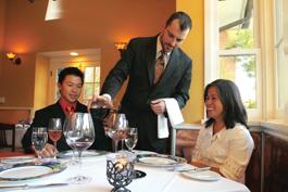 Jedi Waiters  Waiter Serving Food