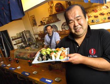 Metroactive Dining Yuki Sushi