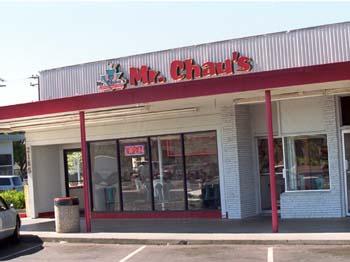 Mr Chau Chinese Fast Food Closed
