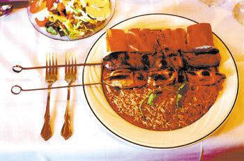 Metroactive dining afghani house for Afghan cuisine sunnyvale
