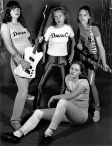 The donnas till sverige