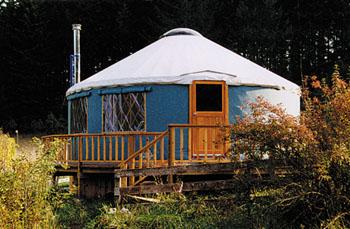 Metroactive Features Yurts